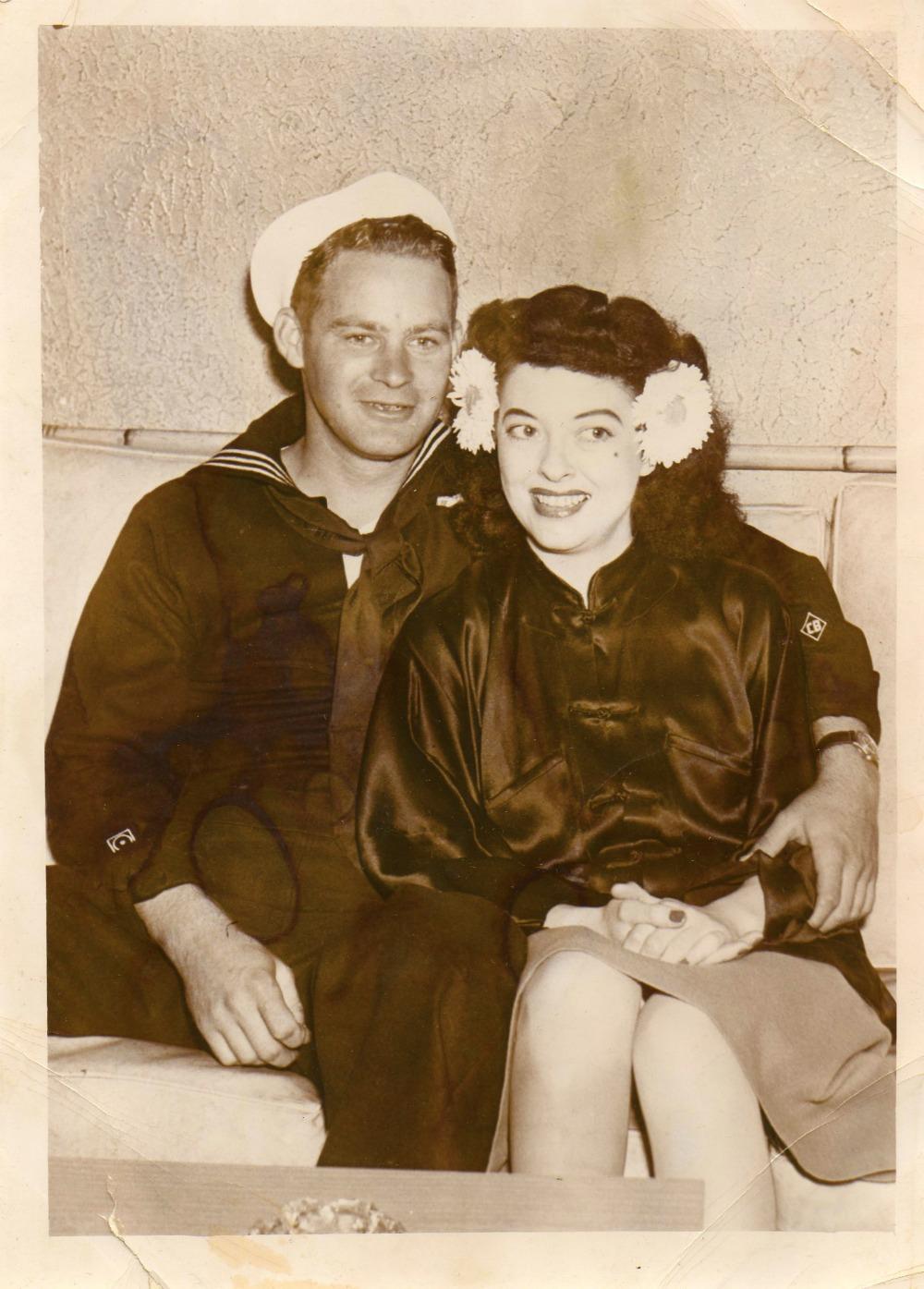 James Paul Stalls, Jr at the Li Po Lounge, Chinatown, San Francisco, California 1944
