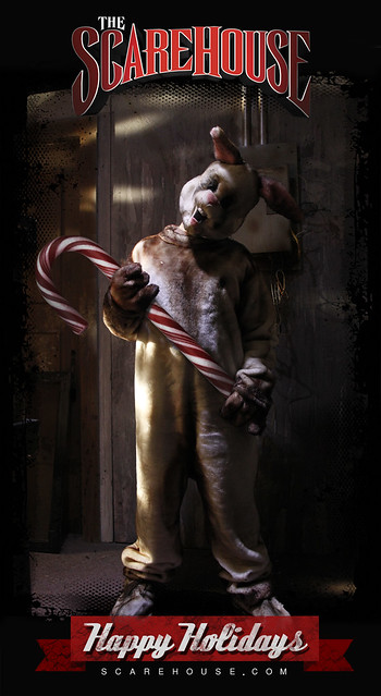 Happy Holidays from The ScareHouse Bunny