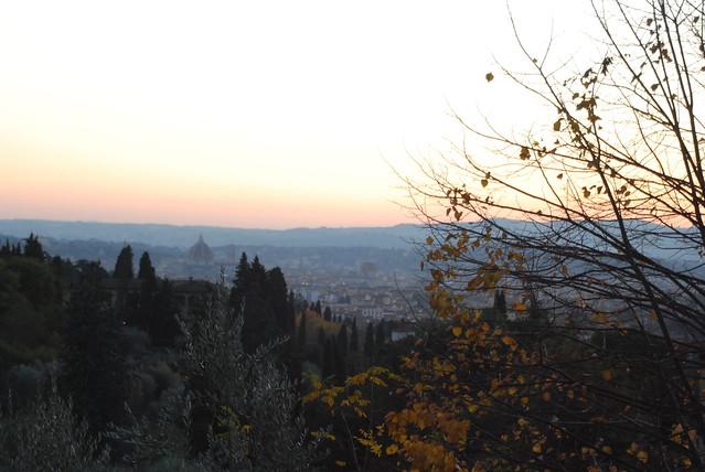 The Duomo from S Felice EUI in November