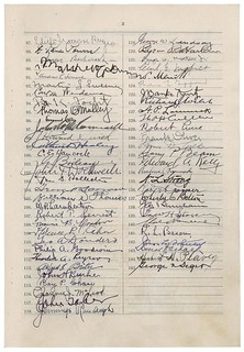 Discharge Petition #14 Filed by Oscar De Priest, 01/24/1934 - 03/05/1934 (page 3 of 4)