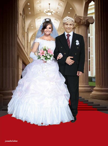 niall and demi's wedding