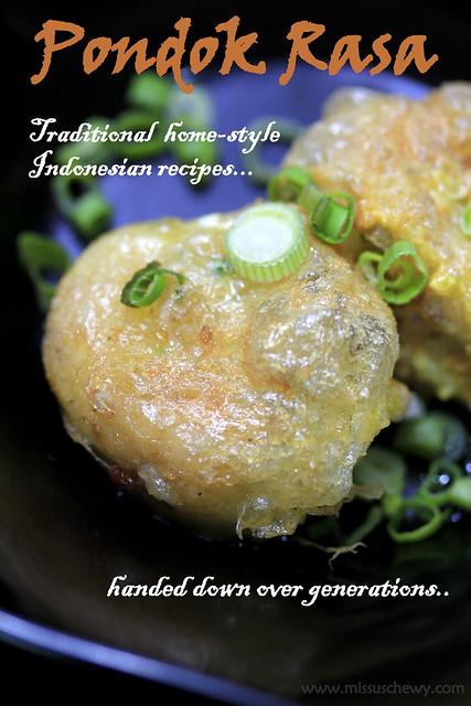 Pondok Rasa Perkedel (potato cake, $2)