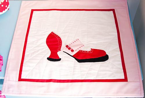 fluevog mini quilt