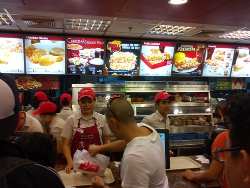 Order a kfc bucket for our noche buena by popazrael