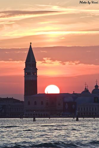 Venezia al tramonto by Virri