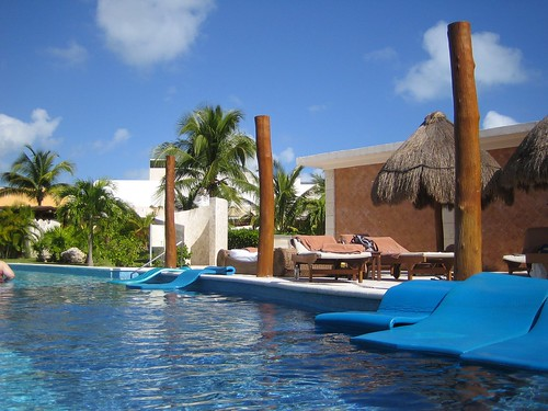 View from the lazy river