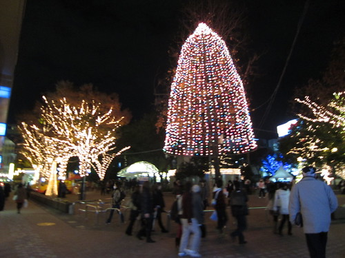 christmas lights in tenjin