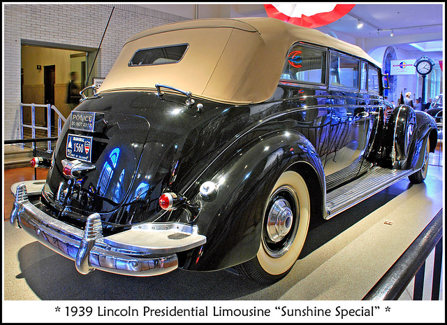 1939 Lincoln Presidential Limousine