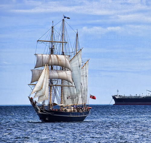The Leeuwin sailing ship, from the Endeavour