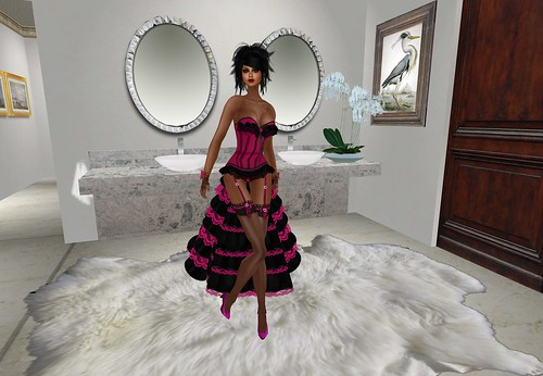 Mon Cheri - Dahlia Noir Hot Pink (group notices) by Cherokeeh Asteria