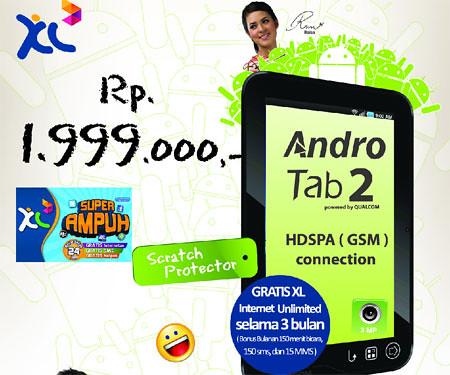 Pixcom Andro Tab 2, Versi Murah Kamera Jadi 3.2 MP