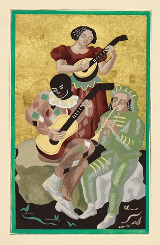 004-El concierto-Gino Severini-Copyright Wolfsonian-Florida International University