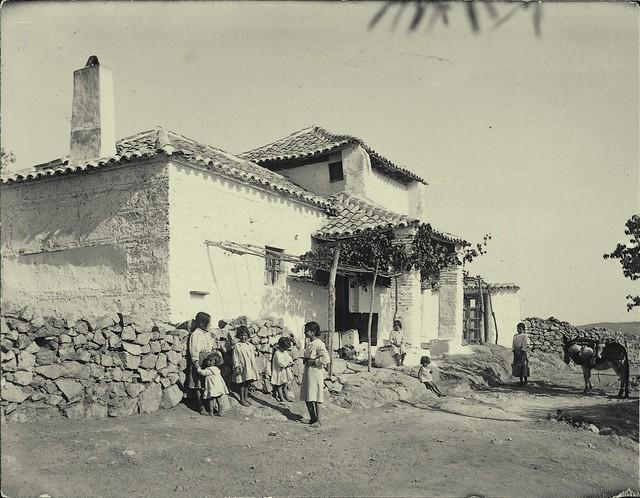 Venta en Toledo a comienzos del siglo XX. Fotografía de Pedro Román Martínez. Centro de Estudios Juan de Mariana. Diputación de Toledo