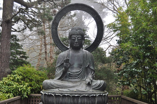 Buddha in the Japanese Tea Garden
