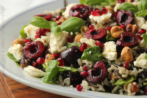 Wild Rice, Black Cherry & Goats Cheese Salad 3