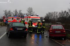 Verkehrsunfälle A643/A66 31.12.2011