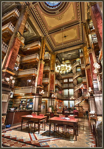 Iowa State Capitol - Law Library by w4nd3rl0st (InspiredinDesMoines)