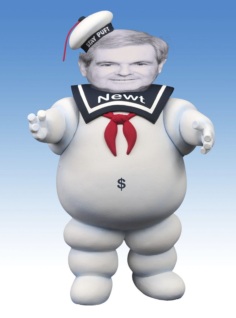 STAY PUFT NEWT