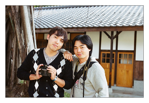 Mr. blueghost and Mr. 天碩