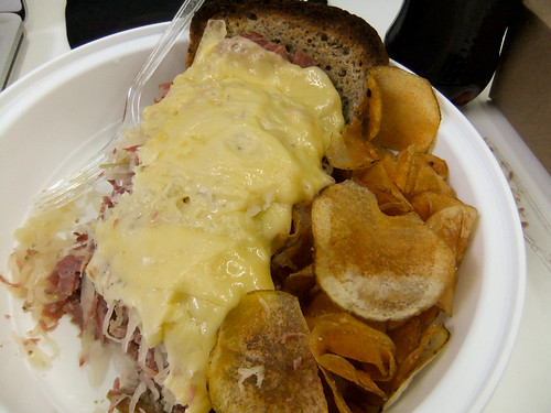 Corned Beef Reuben, Veselka Bowery