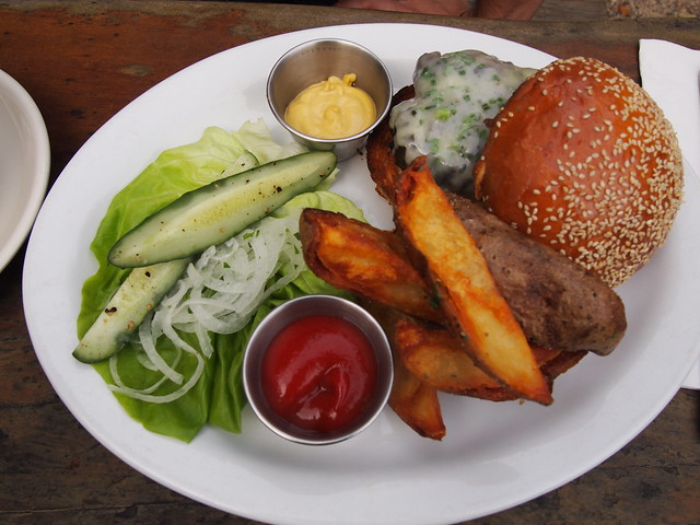 Big Sur Bakery burger
