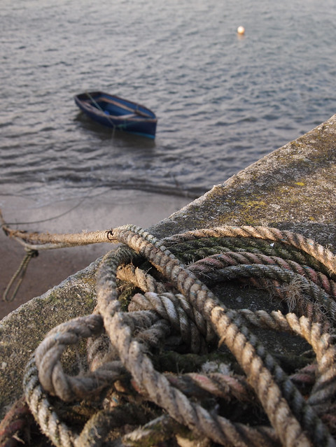 ROPE AND BOAT