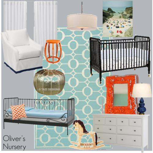oliver's design board