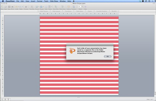 How to Make a Diagonal Striped Background in PowerPoint