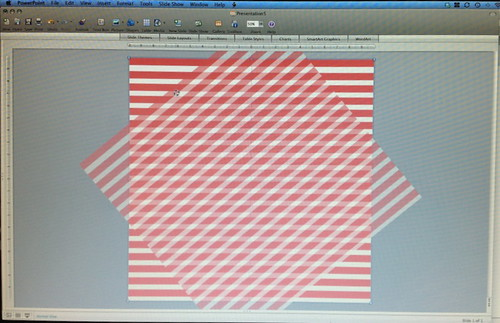 Free Printables + How to Make a Diagonal Striped Background in PowerPoint