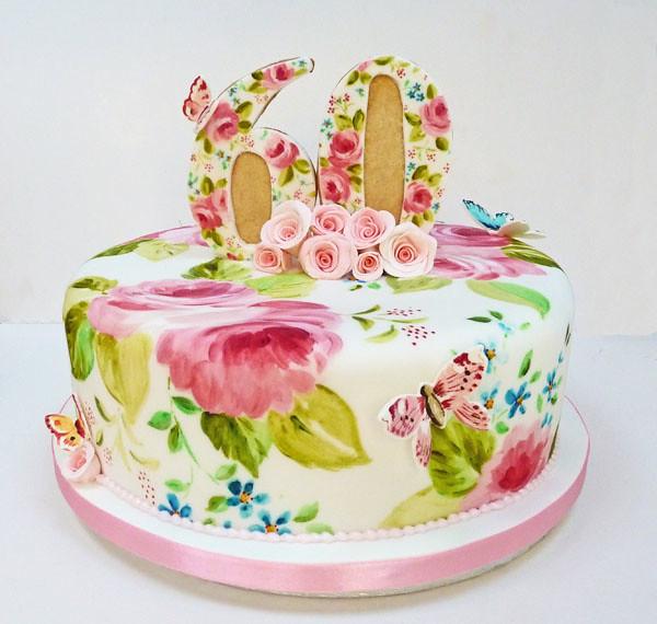 60th Birthday Cake Flickr Photo Sharing