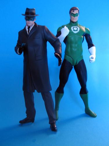 Green Hornet and Green Lantern