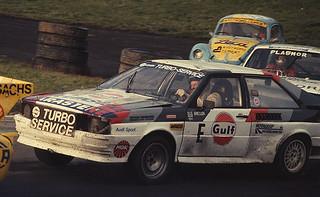 Ole Arnesson - Euro Rallycross - Audi Quattro - Brands Hatch 1982