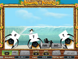 Penguins in Paradise free spins
