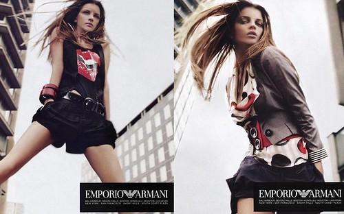 Jeisa-Chiminazzo-anuncio-Emporio-Armani