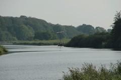 Wikingerzeitliches Handelsschiff Sigyn auf der Eider - 20-08-2011