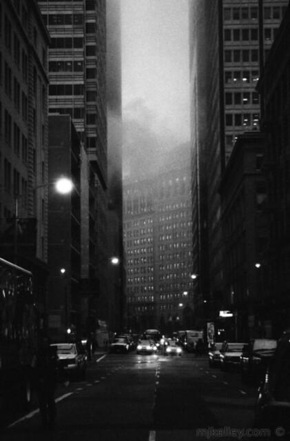 Pine Street at 7:20AM