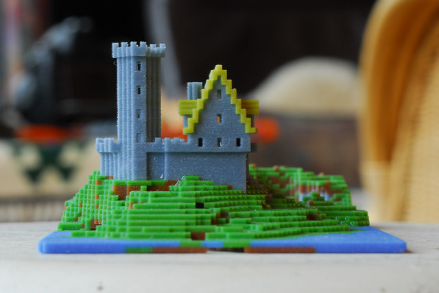 how to make miniature models in minecraft
