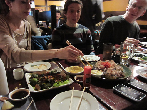 japanese food and friends!