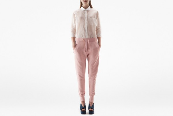 blush trousers