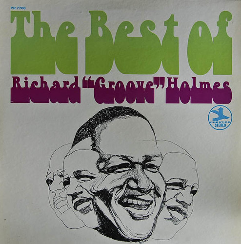 PR 7700  The Best Of Richard Groove Holmes-front