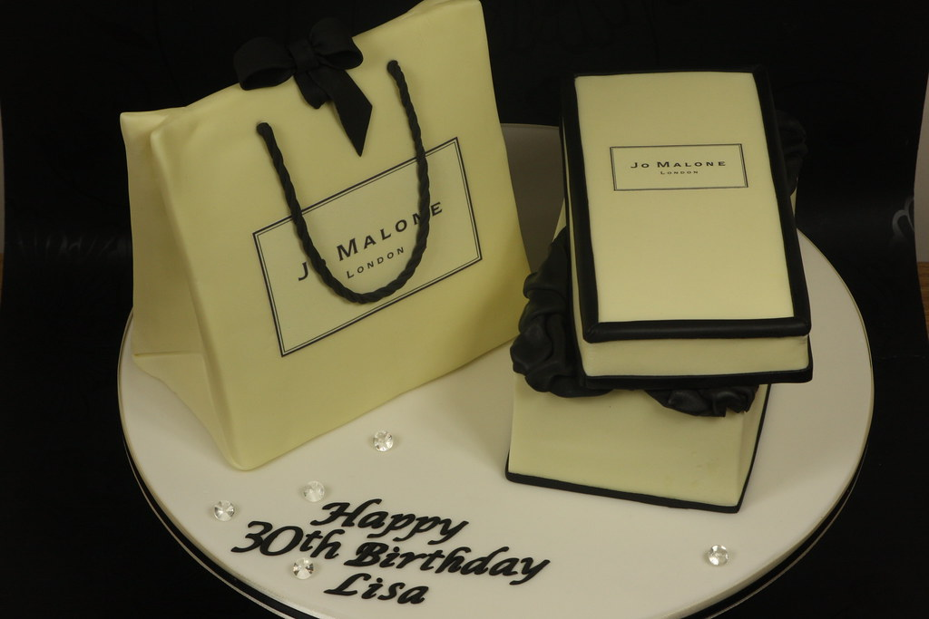 Jo Malone Gift Box And Bag Cake