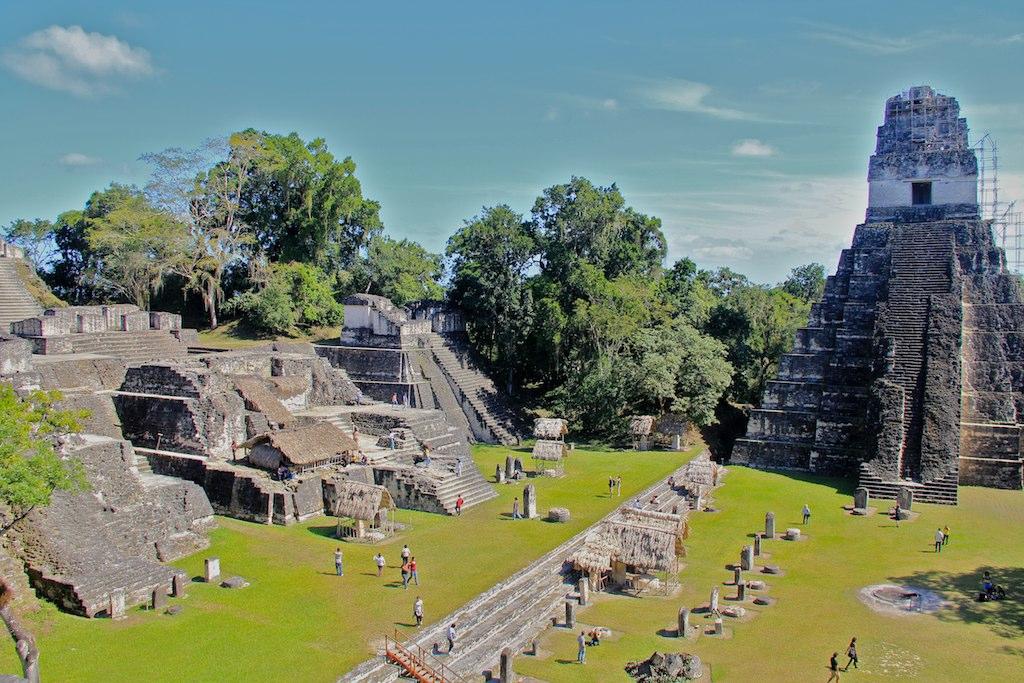 Tikal - The Mayan town
