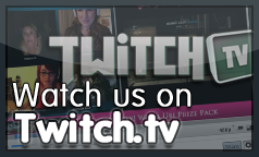 Watch us on Twitch TV