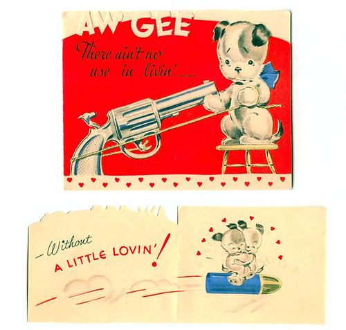 14 Really Bizarre Vintage Valentines Day Cards – Creepy Valentine Cards