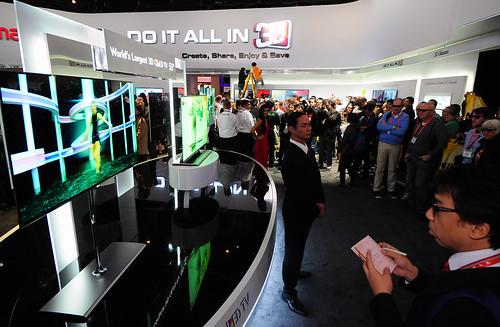 LG전자 CES2012 - 3D OLED TV