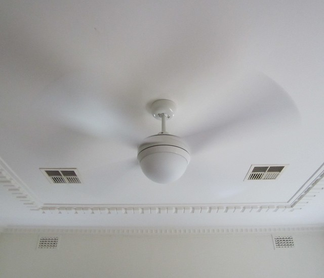 New light fitting/fan