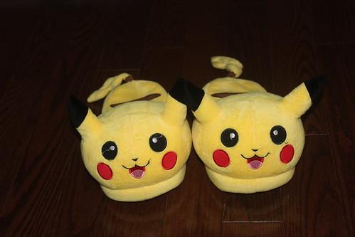 pikachu slippers!~ by HakunaOhana