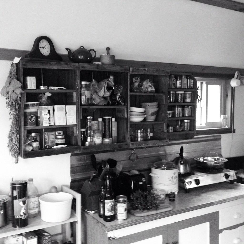 Kitchen Finks: Cabin Kitchen