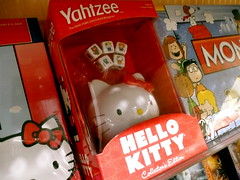 Hello Kitty Yahtzee