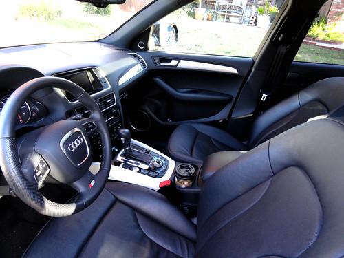 2011 Audi Q5 Front Seats